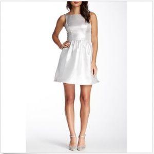 Aidan Mattox Dress Size 4 A-Line Sleeveless Open